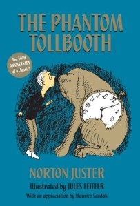 The Phantom Tollbooth by Norton Juster with illustrations by Jules Feiffer