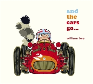 and the cars go... by William Bee [**]- I enjoyed this cute picture book about different vehicles caught in a traffic jam. The illustrations are very detailed and there's a mini-game of finding the snails hidden in each two-page spread!