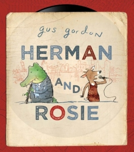 Herman and Rosie by Gus Gordon [**]- I didn't have any intention of reading this picture book until I read some good reviews of it by IMWAYR bloggers. It's quite a lovely story although I can't see kids being able to relate to the story completely. I wonder how it would be marketed towards adults?