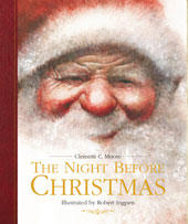 The Night Before Christmas by Clement C. Moore, Illustrated by Robert Ingpen [***]- Everyone's familiar with the story. I think everyone should read it and make it a tradition, especially if they have kids. I particularly enjoy the illustrations in this edition!