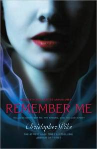 "Remember Me 2: The Return by Christopher Pike [***]- If ever there was a book that didn't need a sequel, it was Remember Me. But like that first book in the trilogy, I must have reread Remember Me 2 a dozen times. This was around the time Pike's books started to incorporate bigger spiritual parts into his stories. For a preteen, this was all totally new to me. But it was nice to hear more about one of my favorite characters. A customer the other day mentioned that the YA books she read helped shape her beliefs. I would say the same for Pike's books with me. There are some parts that made me go, ""So that's where I got that idea about spirituality from."""