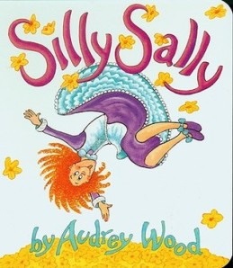 Silly Sally by Audrey Wood [**]- A fun story for beginning readers. I was surprised by the detail in illustrations since I wasn't expecting it for some reason.