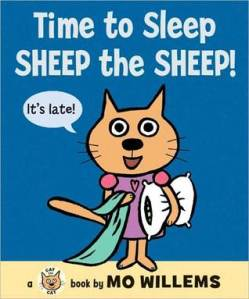 Time to Sleep, Sheep the Sheep! by Mo Willems [**]- Like with the other books in this series, the surprise at the end was funny. I think this series is aimed for even younger readers than Elephant and Piggie.