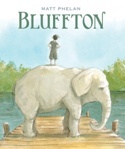 Bluffton by Matt Phelan [***]- I've been hearing great reviews of this book, and I was familiar with and enjoyed The Storm in the Barn. I've heard of Buster Keaton but couldn't place him exactly so I didn't know what I was getting into. But the beautiful illustrations kept me moving from one panel to the next, one page after the other. Before I knew it, I was engrossed in the story of two boys who come of age together over multiple summers. Every character came alive. Every scene played out like a movie. I immediately recommended it to someone at the store- and they bought it! Last minute addition to my Favorite Graphic Novel of 2013 contender.