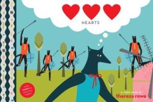 """Hearts by Thereza Rowe [*]- I was more fascinated by the concept of Toon Books than the actual story. They bill themselves as """"the first high-quality comics for kids ages three and up."""""""