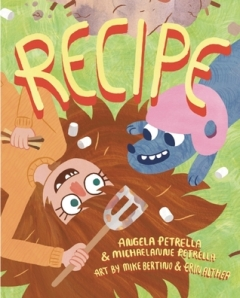 Recipe by Angela and Michaelanne Petrella, Illustrated by  Mike Bertino and Erin Althea [**]- My boss found this ridiculously quirky book which I'll be reviewing for next month's NW Kids so stay tuned for that.