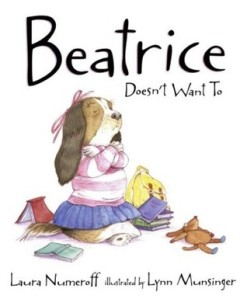 Beatrice Doesn't Want To by Laura Joffe Numeroff, Illustrated by Lynn Munsinger [*]- I forgot to include this is an earlier #IMWAYR post. I read this to one of the students I read to. It's a cute picture book about a girl falling in love with the library!