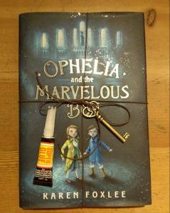 "Ophelia and the Marvelous Boy by Karen Foxlee [***- My Pick of the Week]- I don't think I've seen this reviewed a lot yet on other #IMWAYR blogs but I'm sure that will change soon. This is a book I will defintiely be recommending like crazy to our customers. It's the perfect time for it, too, with the popularity of the Disney movie ""Frozen"" and a nice book to pair with Anne Ursu's Breadcrumbs. This is a story of a very scientifically minded girl who meets  magical boy. This is also a story about loss and bravery and magic. Read it!"