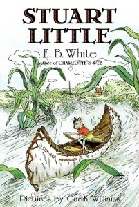 Stuart Little by E.B. White [****]- Delightful and charming. The humor seemed quirky to me but in a good way, not in a forced or false way. I just love how Stuart Little is just the way he is and the world accepts the fact of his existence without question. It's a fun ride to be on and the writing style, the sentence structures, takes unexpected turns wen you least expect it. I loved it. I wanted more. I can understand E.B. White's to end the story where he did and why he decided there wouldn't be a sequel but there was no sense of closure- or even a strong sense of character growth for the readers to even guess at what might happen next! [E.B. White Reading Challenge]