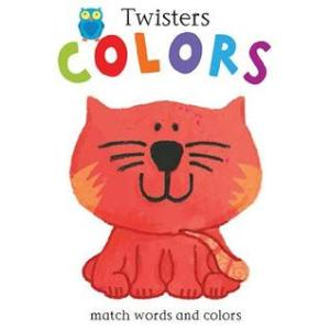Colors by Anton Poitier [**]- Super fun board book. Each page has a part (in this case an animal) that twists to match the text with the correct image. I will definitely be recommending this new series- Twisters- often.