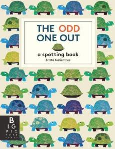 The Odd One Out by Britta Teckentrup [**]-  I like the illustrations. Fun search and find.