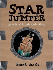 Star Jumper by Frannk Asch [***]- This is one of our bestselling books at our store. I've recommended it plenty of times but, after having read it through, I feel I can do an even better job. Very creative including the illustrations of all the materials Alex uses to make his creations. Good for readers who like space and/or Legos.