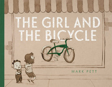 The Girl and the Bicycle by Mark Pett [***]- I admit I got teary eyed on this one. This story has a great message of how hard work pays off and the surprising  kindness of people. I loved the attention to detail with the illustrations.