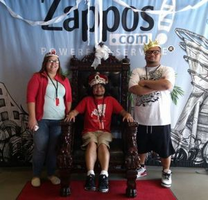 My brother, sister-in-law, and I took a tour of Zappos' new headquarters. If you're in Vegas, be sure to check it out. Always inspiring!