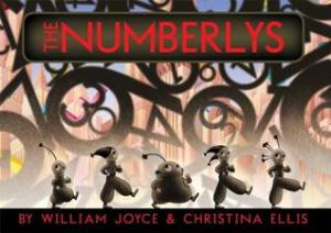 The Numberlys by William Joyce, Illustrated by Christina Ellis [**]- William Joyce is very hit or miss with me. His ideas and styles are always fascinating. His writing is kind of lackluster though. The Numberlys is fun imaginative read of how letters came to be.