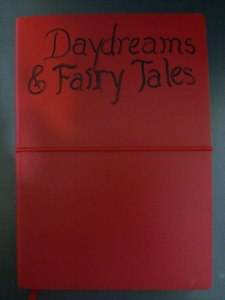 Daydreams & Fairy Tales: A Collection of Words and Images (Inspired by Mariah Carey's album Daydream) will be available as an e-book October 3, 2014! (This is a picture of my notebook for it, not the cover!)