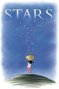 Stars by Mary Lyn Ray, Illustrated by Marla Frazee [**]- A sweet book. But what stood out was the illustrations from Marla Frazee who also did All the World.