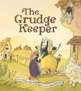 The Grudge Keeper by Mara Rockliff [***]- I had to read this when a customer kept coming in to buy multiple copies. This beautifully illustrated picture book not only delivers a great messages of not needing to hold on to grudges but is a very entertaining read filled with a rich vocabulary!
