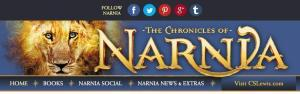 Visit the official Narnia website!
