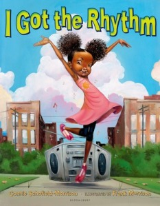 I Got the Rhythm by Connie Schofield-Morrison, Illustrated by Frank Morrison [**]- Music is all around in this picture book featuring a multicultural cast. This might be a good read aloud with two or more people!