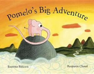 Pomelo's Big Adventure by Ramona Badescu, Illustrated by Benjamin Chaud [*]- Little lovable Pomelo sets out on a journey that takes him far, far, far into the great big world out there and discovers things deep, deep, deep within himself. Reminiscent of both The Little Prince and Oh, the Places You'll Go! this makes for a perfect gift for anyone ready to embark on an exciting new chapter in their life.