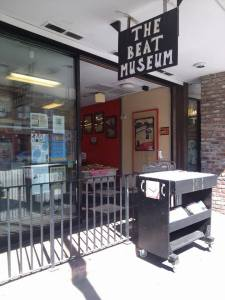 The Beat Museum- I grew up in the North Beach neighborhood. I remember going to a hole-in-wall used bookstore, where I'm sure this museum now stands. They do sell books here, including a bath tub full!