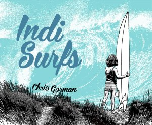 Indi Surfs by Chris Gorman